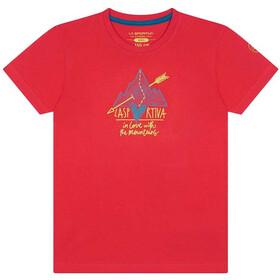 La Sportiva Alakay T-Shirt Kids, hibiscus